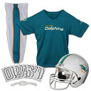 FRANKLIN SPORTS マイアミ ドルフィンズ 子供用 デラックス キッズ ベビー マタニティ ジュニア 【 Miami Dolphins Youth Deluxe Uniform Set 】 Color
