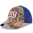 ニューエラ NEW ERA ジャイアンツ カモ柄 ネオ 【 NEW ERA YORK GIANTS REALTREE CAMO NEO 39THIRTY FLEX HAT COLOR 】 バッグ キャップ 帽子 メンズキャップ 帽子