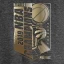 ショッピングFINAL ファナティクス FANATICS BRANDED トロント ラプターズ マックス 金色 ゴールド Tシャツ ヘザー チャコール 【 HEATHER FANATICS BRANDED 2019 NBA FINALS CHAMPIONS MAX BLING GOLD LUXE TSHIRT CHARCOAL 】 メンズファ