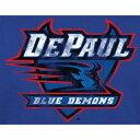 ショッピング大きめ ファナティクス FANATICS BRANDED 青色 ブルー クラシック Tシャツ 【大きめ】 【 FANATICS BRANDED DEPAUL BLUE DEMONS CLASSIC PRIMARY TSHIRT 】 メンズファッション トップス Tシャツ カットソー