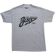 【海外限定】Tシャツ GRAY灰色 グレイ メンズファッション カットソー 【 GREY BAIT LOS ANGELES TEE HEATHER BLACK 】【送料無料】