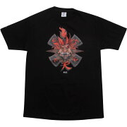 【海外限定】ストリート ファイター Tシャツ メンズファッション 【 STREET BAIT X FIGHTER AKUMA TEE JESSE HERNANDEZ BLACK 】【送料無料】