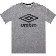 【海外限定】ロゴ Tシャツ トップス 【 UMBRO FETTES LOGO TEE GREY MARL 】【送料無料】