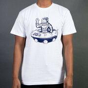 【海外限定】クラブ Tシャツ メンズファッション 【 BILLIONAIRE BOYS CLUB MEN UFO TEE WHITE 】【送料無料】