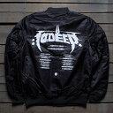 テンディープ 10 DEEP ディープ 黒 ブラック 【 BLACK 10 DEEP MEN NULL AND VOID TOUR JACKET 】 メンズファッション コート ジャケット