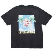 【海外限定】Tシャツ トップス 【 LIFTED ANCHORS MEN VERONA TEE BLACK 】【送料無料】
