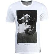 【海外限定】アディダス Tシャツ カットソー メンズファッション 【 ADIDAS MEN RYR KAREEN TEE RESPECT YOUR ROOTS WHITE BLACK 】【送料無料】