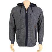【海外限定】コート メンズファッション 【 CROOKS AND CASTLES HOODED JACKET NAVY 】【送料無料】