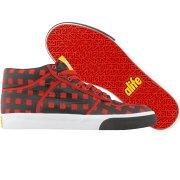 【海外限定】エーライフ ミッド ナイロン スニーカー メンズ靴 靴 【 ALIFE EVERYBODY MID PARACHUTE NYLON RED 】【送料無料】