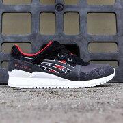 【海外限定】アシックス スニーカー 靴 【 ASICS TIGER MEN GELLYTE III BLACK 】【送料無料】