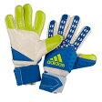 アディダス ADIDAS ZONES PRO プロ GK GLOVE グローブ グラブ 手袋 SHOCK ショック BLUE 青・ブルー WHITE 白・ホワイト SEMI SOLAR SLIME