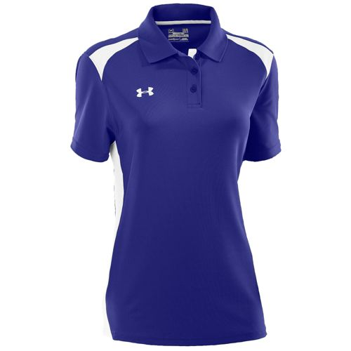 UNDER ARMOUR TEAM チーム COLORBLOCK POLO POLO ポロシャツ - WOMEN'S レディース