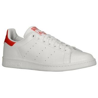 阿迪達斯休閒鞋男鞋阿迪達斯原件原件斯坦史密斯男士男式運行白色白色白色高校紅色紅色紅色運動鞋
