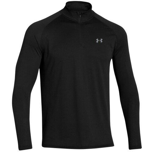 UNDER ARMOUR LIGHTWEIGHT TECH テック 1/4 ZIP L/S 長袖・ロングスリーブ T-SHIRT Tシャツ - MEN'S メンズ