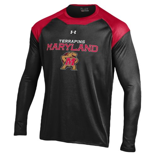 UNDER ARMOUR COLLEGE カレッジ PERPETUAL HEAT ヒート GEAR ギア L/S 長袖・ロングスリーブ TOP - MEN'S メンズ