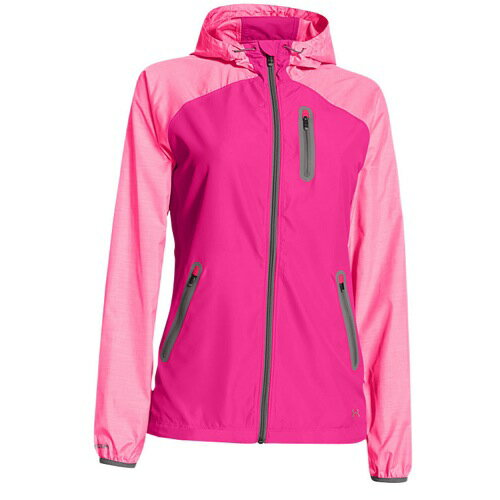 UNDER ARMOUR ALLSEASONGEAR QUALIFIER WOVEN ウーブン JACKET ジャケット - WOMEN'S レディース