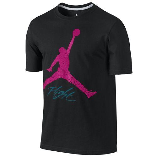 JORDAN ジョーダン FLIGHT フライト JUMPMAN ジャンプマン T-SHIRT Tシャツ - MEN'S メンズ