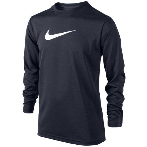 NIKE ナイキ LEGEND レジェンド L/S 長袖・ロングスリーブ T-SHIRT Tシャツ - BOYS' GRADE SCHOOL