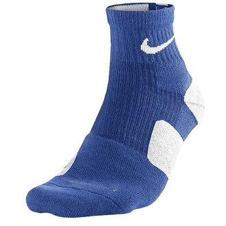 耐吉NIKE ELITE精英HIGH-QUARTER SOCKS短襪、襪子MENS人GAME遊戲ROYAL WHITE白、白襪隊