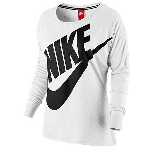 NIKE ナイキ SIGNAL LOOSE L/S 長袖・ロングスリーブ T-SHIRT Tシャツ - WOMEN'S レディース
