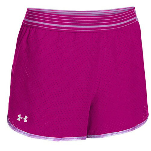 UNDER ARMOUR HEATGEAR PERFECT PACE SHORTS ショーツ ハーフパンツ - WOMEN'S レディース