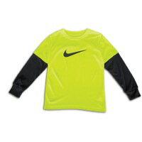 NIKE ナイキ DRI-FIT ドライフィット L/S 長袖・ロングスリーブ T-SHIRT Tシャツ - BOYS' PRESCHOOL 小中学生 子供用
