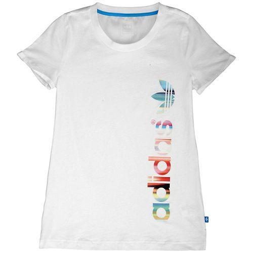 ADIDAS ADIDAS アディダス ORIGINALS オリジナルス CONCRETE JUNGLE S/S 半袖 Tシャツ T-SHIRT Tシャツ - GIRLS' GRADE SCHOOL