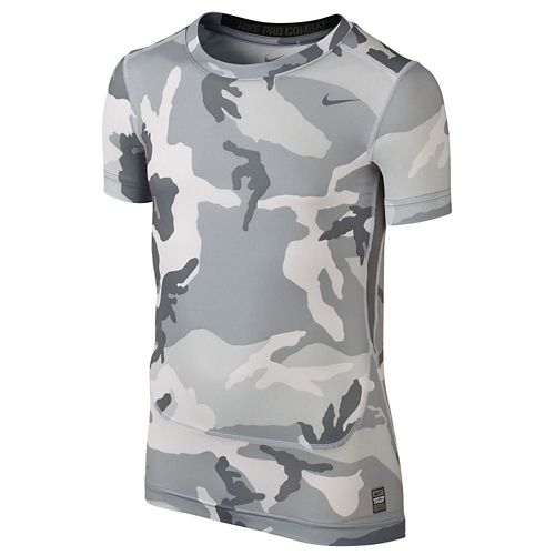 NIKE ナイキ PRO プロ COMBAT コンバット CORE コア COMPRESSION コンプレッション S/S 半袖 Tシャツ TOP - BOYS' GRADE SCHOOL