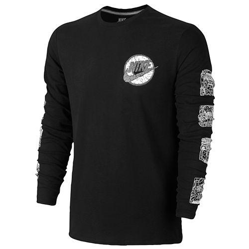 NIKE ナイキ QT S+ AIR AIR エア エアー HUARACHE ハラチ L/S 長袖・ロングスリーブ T-SHIRT Tシャツ - MEN'S メンズ