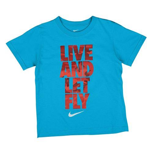 NIKE ナイキ GRAPHIC グラフィック S/S 半袖 Tシャツ T-SHIRT Tシャツ - BOYS' PRESCHOOL 小中学生 子供用