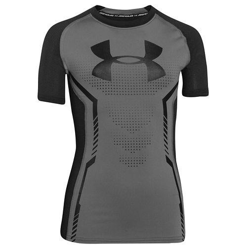 UNDER ARMOUR HEATGEAR ARMOUR FITTED S/S 半袖 Tシャツ T-SHIRT Tシャツ - BOYS' GRADE SCHOOL