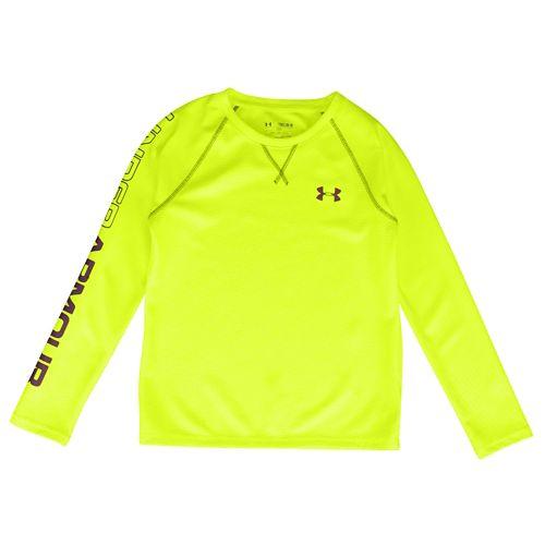 UNDER ARMOUR DYNAMISM LONGSLEEVE ロングスリーブ・長袖 T-SHIRT Tシャツ - BOYS' GRADE SCHOOL