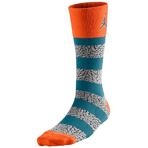 JORDAN ジョーダン ELEPHANT エレファント STRIPED CREW SOCKS ソックス・靴下
