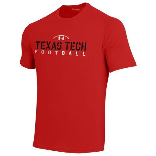 UNDER ARMOUR COLLEGE カレッジ FOOTBALL フットボール TECH テック T-SHIRT Tシャツ - MEN'S メンズ