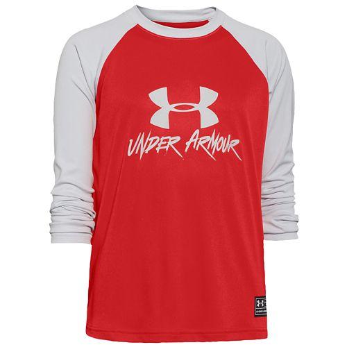 UNDER ARMOUR SLASHER L/S 長袖・ロングスリーブ SURF T-SHIRT Tシャツ - BOYS' GRADE SCHOOL