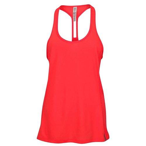 UNDER ARMOUR HEATGEAR FLY-BY STRETCH MESH TANK タンクトップ - WOMEN'S レディース