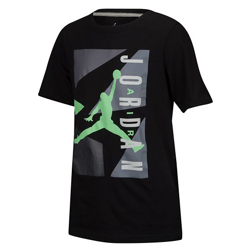 JORDAN ジョーダン AJ BLOCK T-SHIRT Tシャツ - BOYS' PRESCHOOL 小中学生 子供用