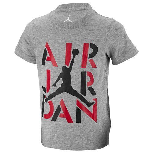 JORDAN ジョーダン STENCIL T-SHIRT Tシャツ - BOYS' PRESCHOOL 小中学生 子供用