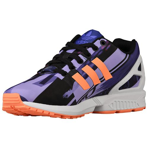 Adidas Zx Flux Purple Orange