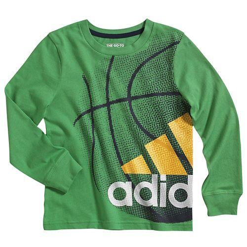 ADIDAS ADIDAS アディダス IMPACT インパクト L/S 長袖・ロングスリーブ T-SHIRT Tシャツ - BOYS' TODDLER ベビー 赤ちゃん用
