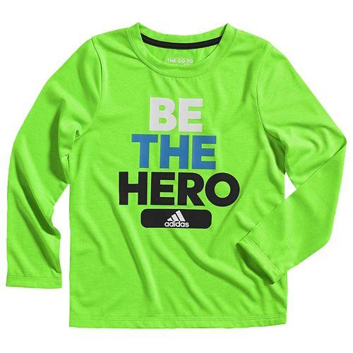 ADIDAS ADIDAS アディダス CLIMA クライマ L/S 長袖・ロングスリーブ T-SHIRT Tシャツ - BOYS' PRESCHOOL 小中学生 子供用
