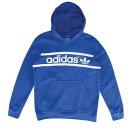 【あす楽対象商品】(即日発送可能)adidas Originals(アディダス オリジナルス) Heritage Logo(ロゴ) Pullove(ラブーン)r Hoodie (フーディー・パーカー)- [ビッグキッズ・子供用] eb59283 Collegiate Royal