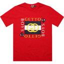 【あす楽対象商品】ROCK SMITH GHETTO BOYS Tシャツ RED 赤 レッド【メンズ 男性用】(pyrs860723red) カジュアル/ファッション トップス 半袖