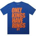 【あす楽対象商品】THE FOREST LAB ONLY KINGS キングス HAVE RINGS Tシャツ BLUE 青・ブルー【メンズ・男性用】(pyonlykingsblu) カジュアル/ファッション トップス 半袖【02P29Aug16】