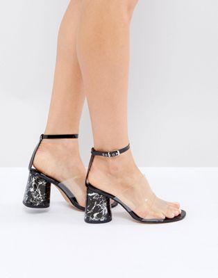 ASOS エイソス THUNDER Minimal Sandals サンダル ASOS レディース・女性用 カジュアル/ファッション シューズ ASOS エイソス THUNDER Minimal Sandals サンダル