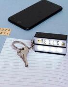 アップ キーホルダー ライトボックス thumbs up keychain lightbox バッグ ブランド雑貨 小物