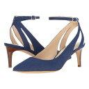 ナイン ウェスト 青 ブルー ファブリック レディース 女性用 パンプス 靴 レディース靴 【 BLUE NINE WEST SHAWN FABRIC 】