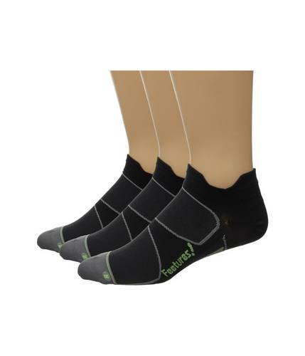 フィーチャーズ エリート ウルトラ ライト ノー ショー タブ パック Feetures Elite Ultra Light No Show Tab 3-Pair Pack