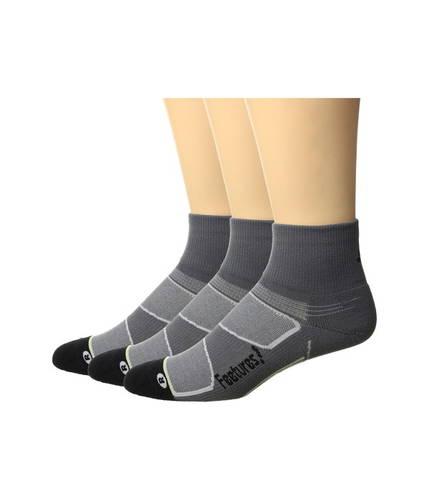フィーチャーズ エリート ライト クッション クウォーター パック Feetures Elite Light Cushion Quarter 3-Pair Pack