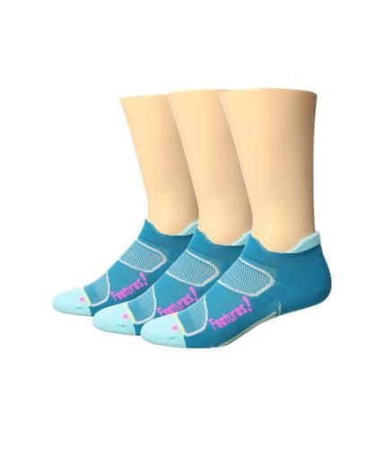 フィーチャーズ エリート ライト クッション ノー ショー タブ パック Feetures Elite Light Cushion No Show Tab 3-Pair Pack